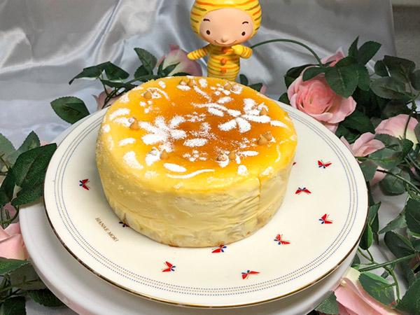 キャラメルのチーズケーキの画像