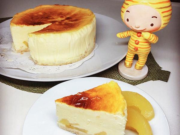 アップルシナモンのチーズケーキの画像2
